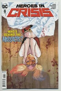 Heroes-In-Crisis-6-Harley-Main-Cover-DC-Comic-1st-Print-Unread-2019-NM