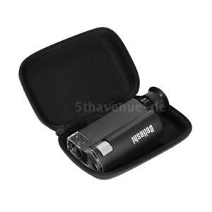 Taschenmikroskop 200X-240X beleuchtet tragbare Lupe LED-UV-Licht Handheld I5Z7