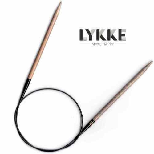 :Driftwood Circular Needles: Lykke 13 US 40 in