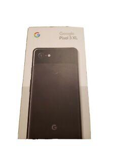 SEALED Google Pixel 3 XL - 64GB - Just Black (Clean ESN / IMEI) New