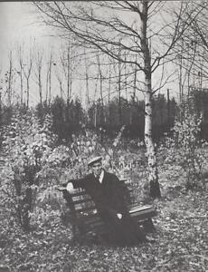 Portrait De Boris Pasternak D'apres Une Photographie AgréAble En ArrièRe-GoûT
