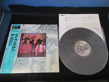 Cult Dream Time Live at The Lyceum Japan Vinyl LP with OBI Goth The Doors