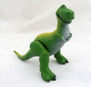 Toy story rex green dinosaur dino disney action figure figurine cake topper ebay - Dinosaure toy story ...