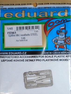 Edp49074 Petch 148 1:48 Eduard P-etch Spitfire Mk Viii Seatbelts Superfabric