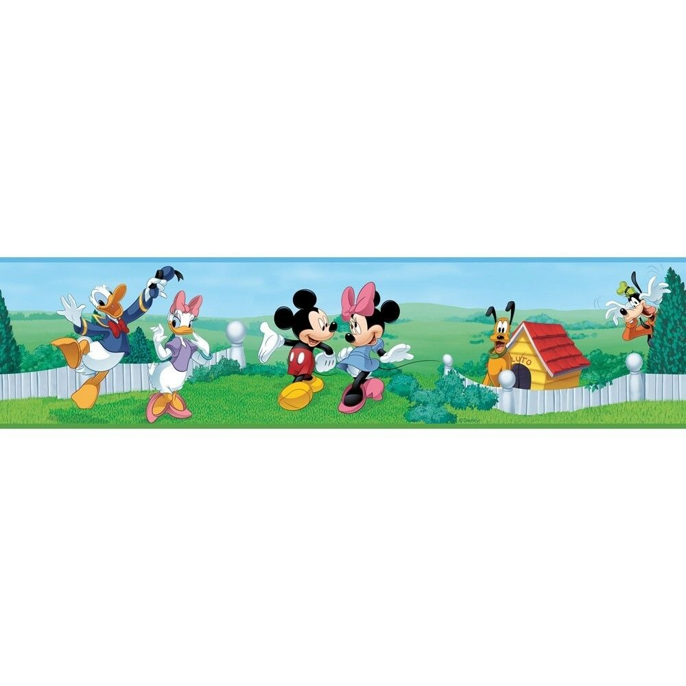 Mickey Mouse Clubhouse Wall Border Wallpaper Room Decor Peel and