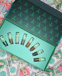 Jeffree Star Cosmetics Mini Green Velour Liquid Lipstick Bundle Blood Money 2020
