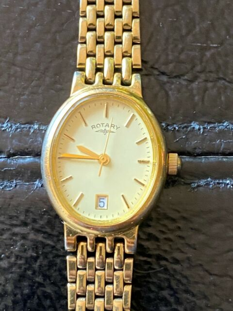 VINTAGE ROTARY LADIES WATCH LB 5765  GOLD COLOUR
