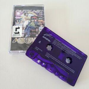 OUTKAST-Aquemini-Cassette-Tape-PURPLE-COLORED-20th-Anniv-Limited-1500-Copies-NEW