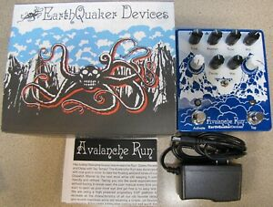 used earthquaker devices avalanche run v2 delay reverb guitar effects pedal 855755007183 ebay. Black Bedroom Furniture Sets. Home Design Ideas