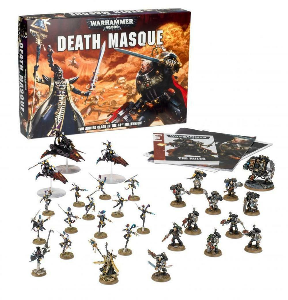 Death mask-warhammer 40,000 - games workshop-nouveau   meilleure mode