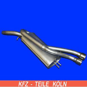 FIAT BRAVO STILO 1.4 90PS 2003 Mitteltopf Auspuff