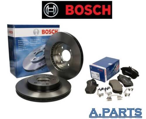 Bosch Bremsensatz Essieu avant complet Mercedes classe c w204//s204 NEUF TOP