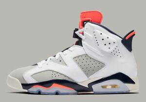 separation shoes 0c7a5 f6ab6 Image is loading New-Men-039-s-Air-Jordan-Retro-6-