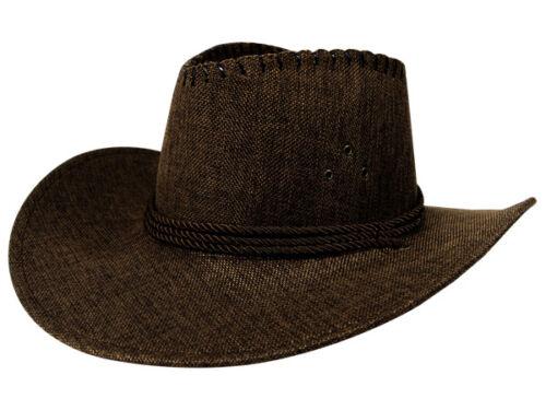 Cowboyhut Texas Hut Cowboy Westernhut Square Dance Australien Herren Damen