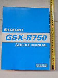 manuale officina suzuki gsxr 750 y k1 k2 k3 gsx r manual repair ebay rh ebay co uk manuale officina suzuki gsx-r 750 k7 manuale officina suzuki gsx r 750 k1