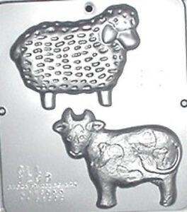 Cow Sheep Chocolate Candy Mold 1293 New Ebay