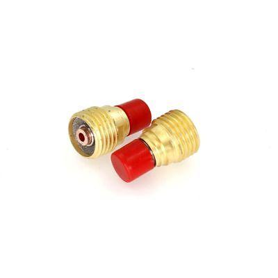 "45V44 TIG Gas Lens 3//32"" Gas Lens collet body Fit TIG WP9 WP25 QTY 10 WP20"