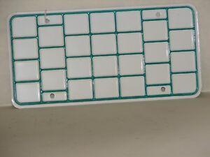 Vtg-NOS-Truck-Bingo-Board-License-Plate-Tag-Stickers-Prorate-WA-OR-CA-IA-6