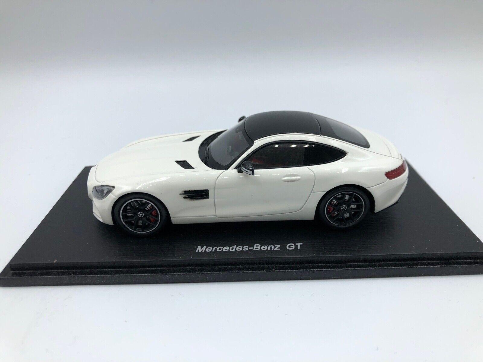 Mercedes Benz Gt  2014 White 1:43 Spark S1071