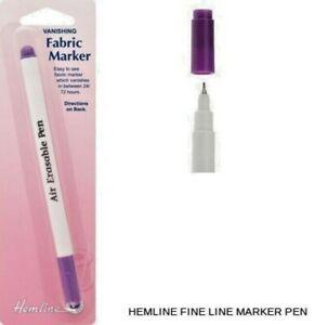 Hemline Vanishing Fabric Marker Pen
