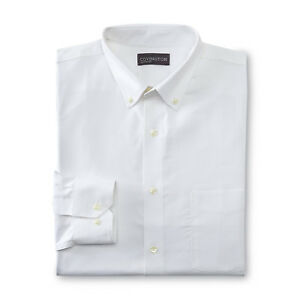 Covington-Men-039-s-Dress-Shirt-White-NWT