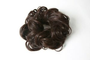 Image is loading Stranded-Hair-Scrunchie-CURLY-Hairpiece-wrap-around-hair- 0cf87d36e19