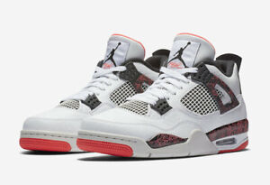 on sale e4c1b 3d945 Image is loading 2019-AIR-JORDAN-4-RETRO-FLIGHT-WHITE-BLACK-