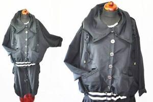 Jacket Layered Big Box oversized Xxl Big Waterproof Look Collars Zugbändchen w0rxq60TI