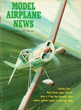 1967 Model Airplane News Magazine: Exciting Class 1/Navy Carrier Plane/Gee Bee