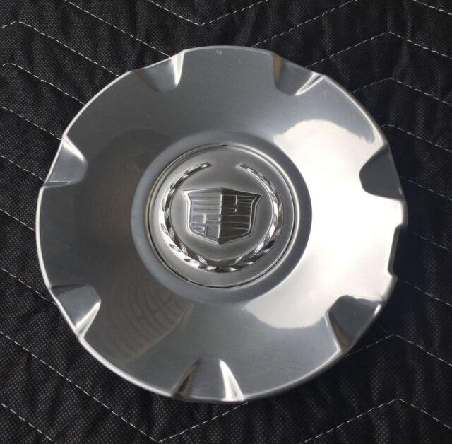 CADILLAC STS CTS Wheel Hub Center Cap POLISHED Factory Original OEM 9595437