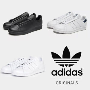 save off 98b40 79b72 Details about Adidas Stan Smith Trainers Mens Originals Sneakers Shoes UK  Size 7 8 9 10 11