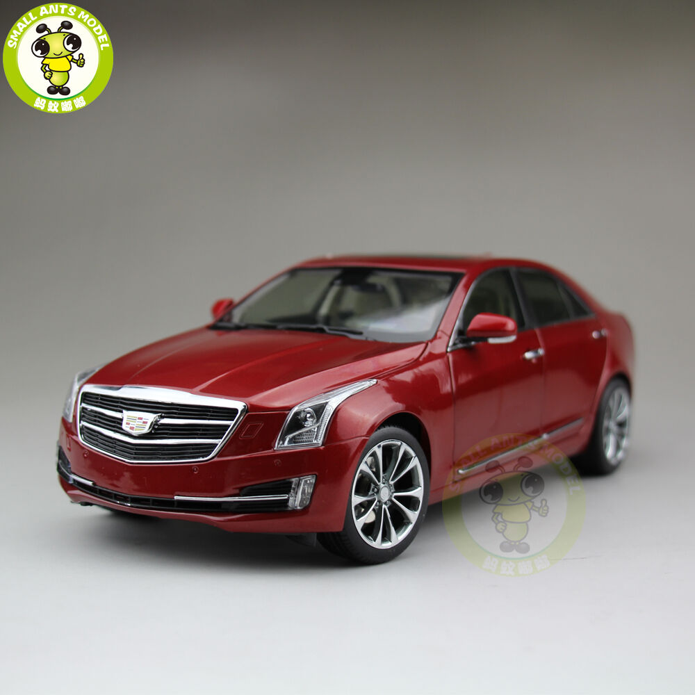1 18 nos GM Cadillac ATS ATS-L 2016 Diecast Modelo Coche rojo