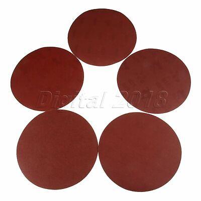 "7/"" Mix 80-800 Grit Sandpaper Sanding Discs Polishing Pads Woodworking Tool 50pcs"