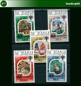 NICARAGUA-Yvert-1136-A-947-50-Complete-Set-MNH-VF