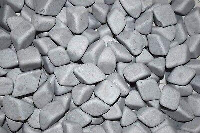 Abrasive 3//16 X 3//8 /& 3//8 X 5//8 Cylinder Grey 3//8 X 1//4 Triangle Lapidary Rock Tumbler Tumble G-General Ceramic Tumbling Media Mixed 6 Lbs