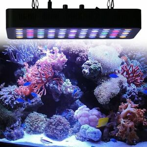 165w 55 leds aquarium light dimmable full spectrum for reef fish