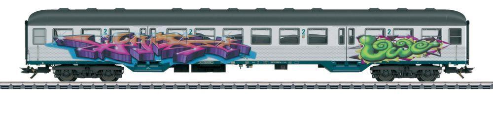 43805 Märklin H0 Silberling DB 2. Kl Graffiti SoMo TopBestpreis OVP  | Gewinnen Sie das Lob der Kunden