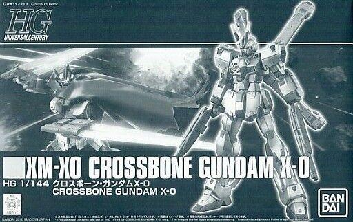 BANDAI HGUC 1 144 XM-X0 CROSSBONE GUNDAM X-0 Model Kit Crossbone GUNDAM Ghost