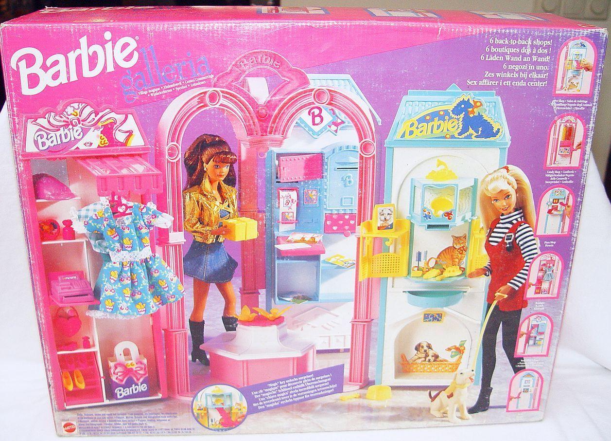 Mattel Barbie Galleria con 6 aldea almacena 12  Figura Muñeco jugar set sin usar y en caja sellada' 95