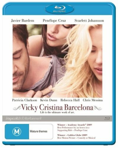 1 of 1 - Woody Allen's Vicky Cristina Barcelona Blu Ray Region B As New Free Postage
