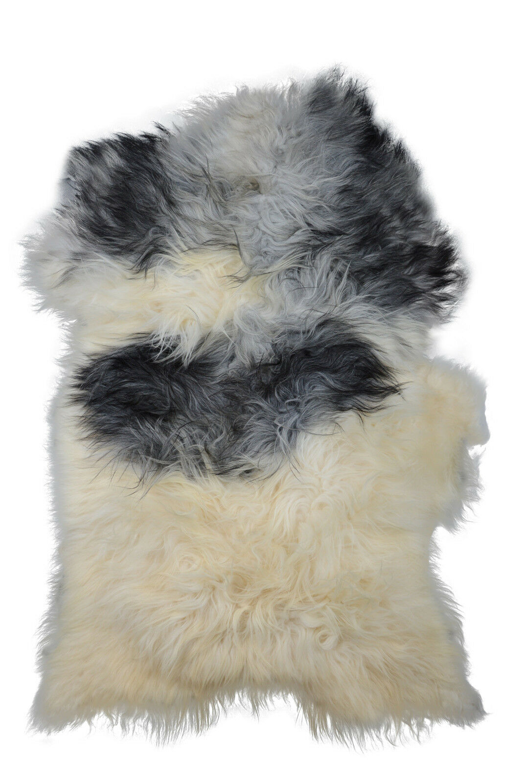 Islanda Agnello Pecora Pelliccia Pelle Tappeto Lambskin SHEEPSKIN 135x95cm