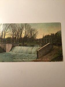 Swimming Pool, Glenwood Park Erie, PA Postcard