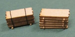 HO scale Laser cut  Lumber stack kits # 2524