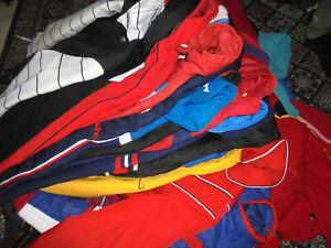 24x-vintage-70s-80s-Nylon-Skijacke-glanz-oldschool-Jacken-wholesale-anorak-S-L