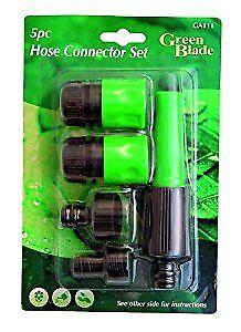 Garden 5 Piece Hose Connector Set