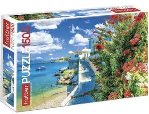 "Puzzle 1500 pieces 45*68cm ""BEACH"" Hatber 1500ПЗ2_20733"