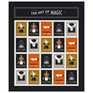 USPS-New-Art-of-Magic-Pane-of-20-Designs-5
