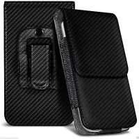 Belt Pouch Holster Magnetic Flip Case Cover Phone Holder for Samsung Galaxy S7