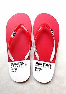 Ciabatte Infradito PANTONE UNIVERSE Footwear Rosso SALSA 181657