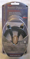 Monster Cable Digital Audio Monster Digital Coax 1m/3.3ft Sdc-1m 125903 Coaxial